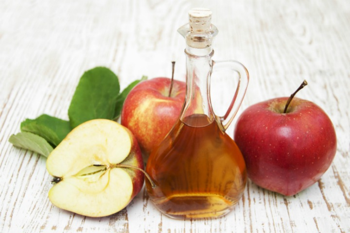 apple cider vinegar cold sore