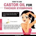How to Use Castor oil for Thicker Eyebrows
