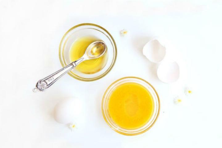 homemade egg face mask