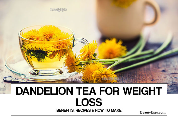 How to Drink Dandelion Tea for Weight Loss?
