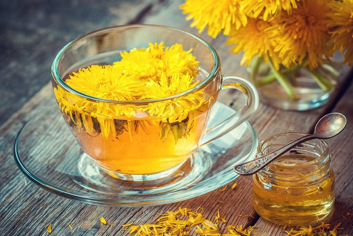 how to make dandelion tea for weight loss