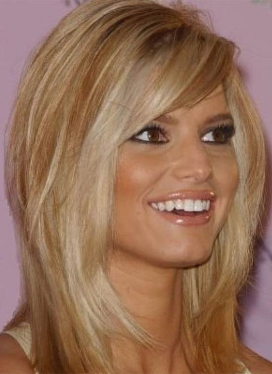 jessica simpson Medium Hairstyles for Women