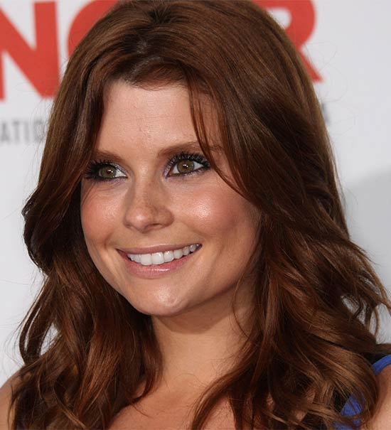 joanna garcia Medium Red Hairstyles