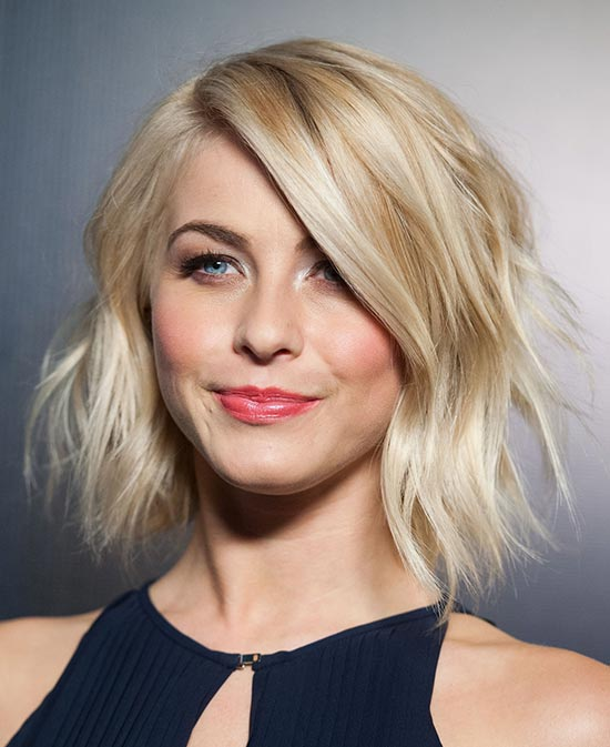julianne hough Medium Shag Haircuts