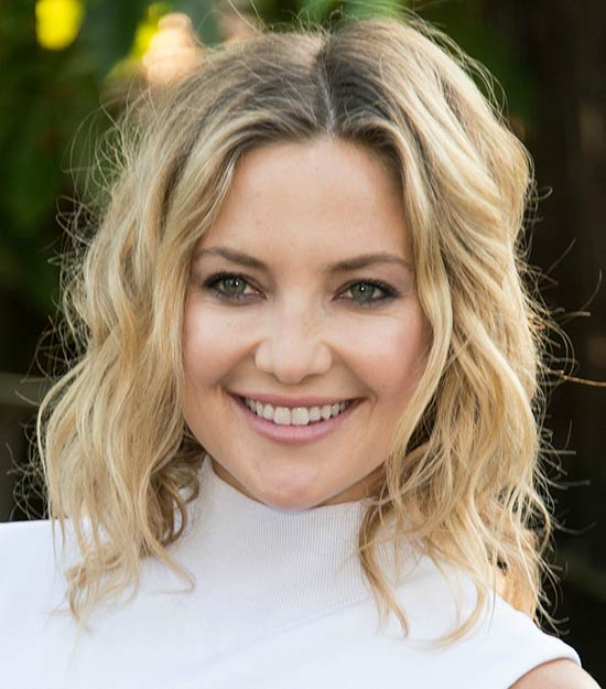 kate hudson Messy bob haircuts