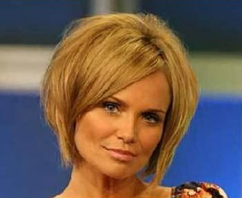 kristin chenoweth Inverted Bob Haircuts