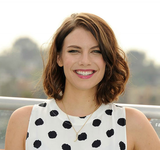 lauren cohan Inverted Bob Haircuts