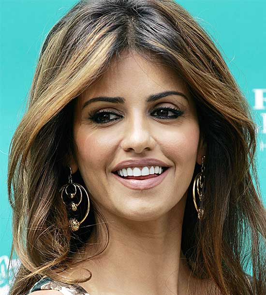 monica cruz Medium Blonde Hairstyles