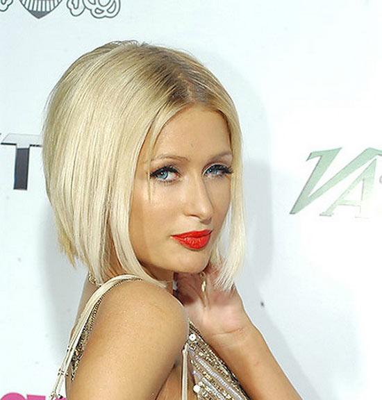paris hilton Layered Bob HairStyles