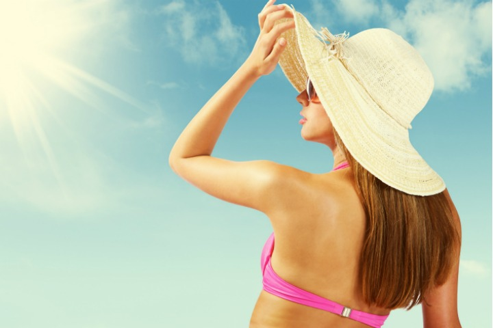 protect hair from sun