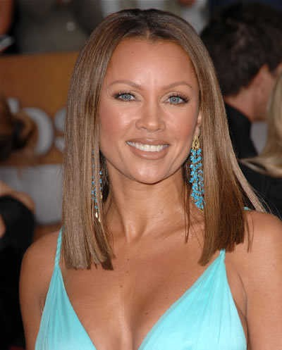 vanessa williams Medium Straight Hairstyles