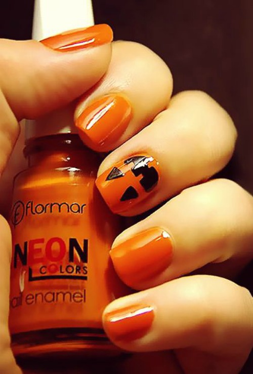 Halloween Nail Designs for Short Nails