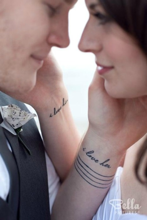 love couple tattoo