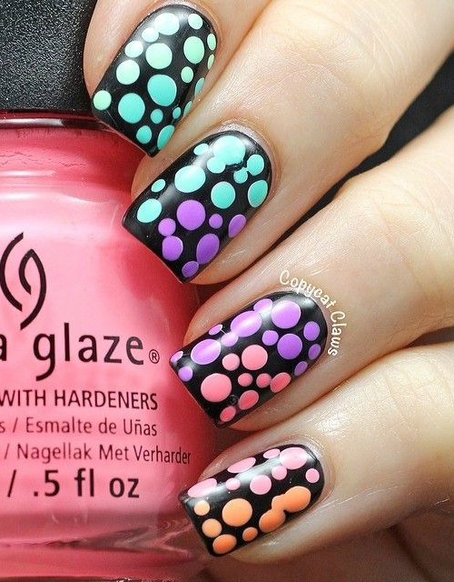 Butterfly Polka Dots Design