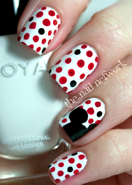 Polka Dots with Disney Princess