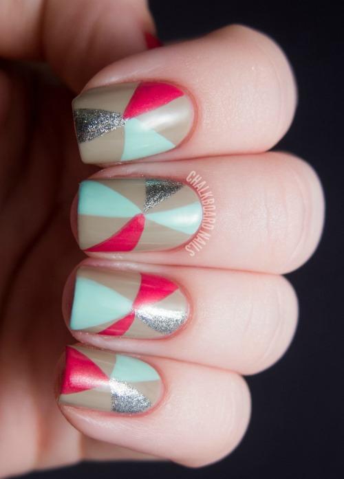 Amazing Geometric Nail Art