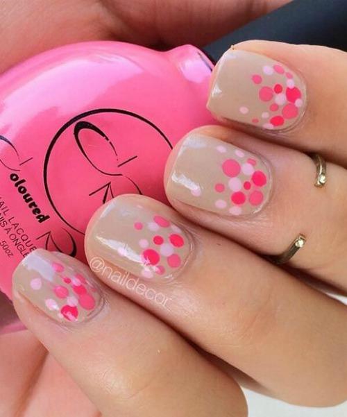 Dazzling Nail Art Design