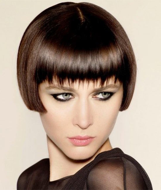 Abbey Lee Kershaw short fringe hairstyle