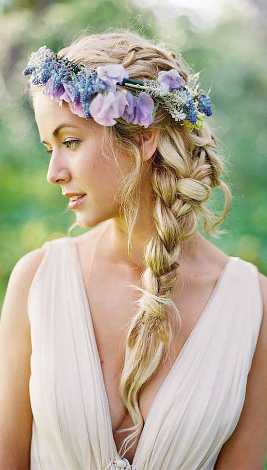 Alena Goretskaya Wedding Hair styles