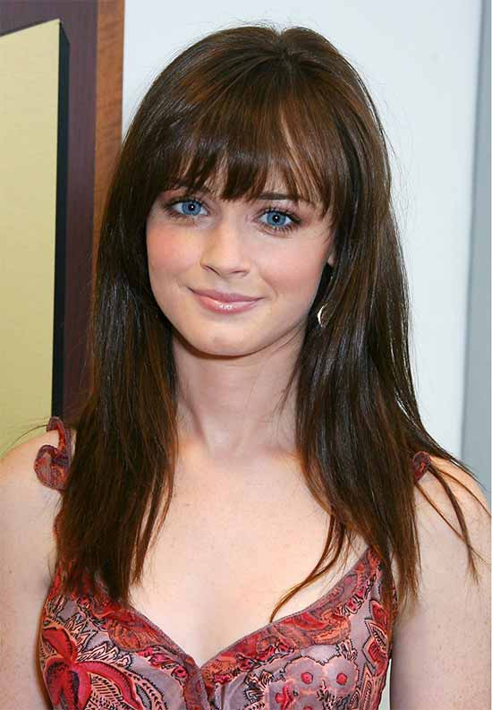 Alexis Bledel Fine Hair