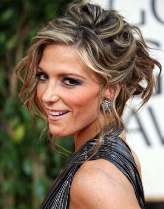 Alyson Michalka Hair Updos for Prom