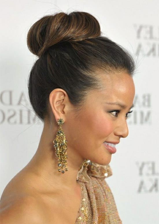 Amanda Presail High bun Hair styles