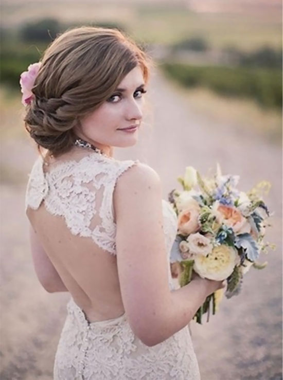 Amy Clarke Wedding Hair styles