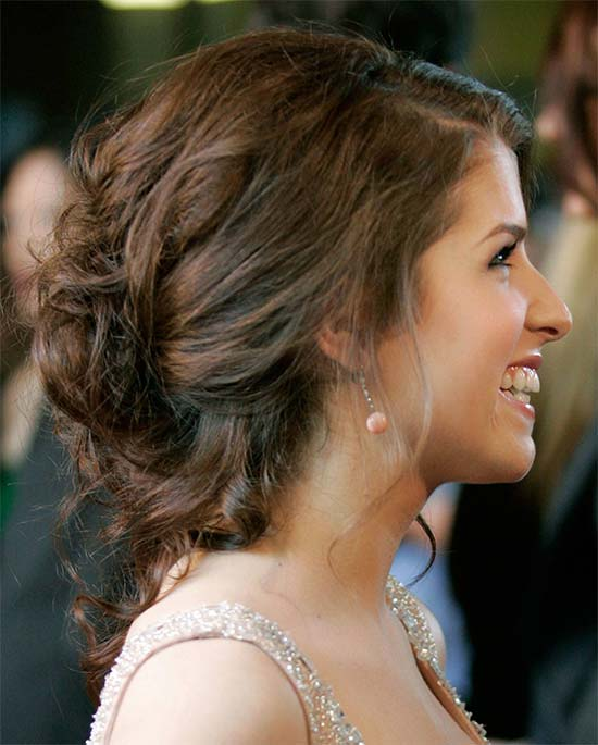 Anna Kendrick Prom Updo hairstyle