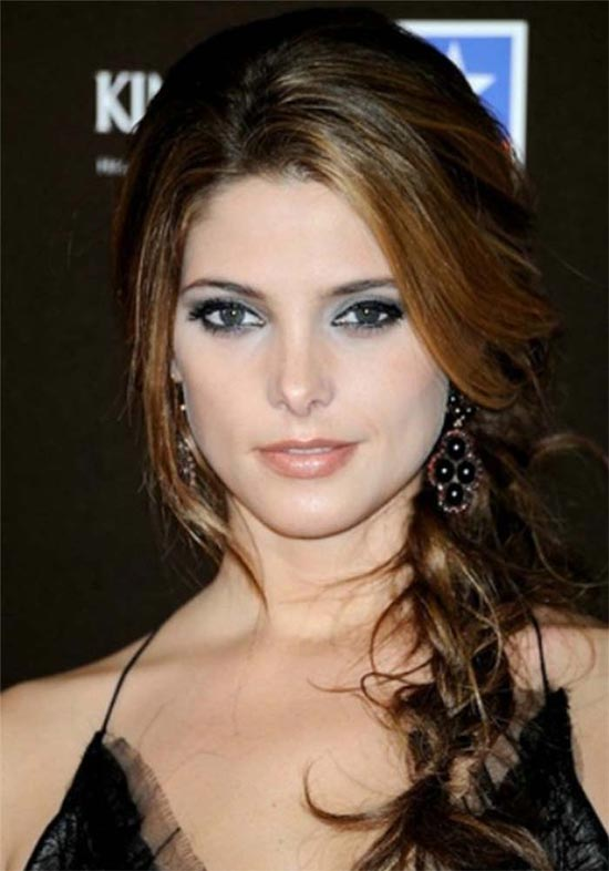 Ashley Greene Braided Hairstyle