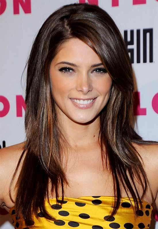 Ashley Greene Long Straight hair Styles