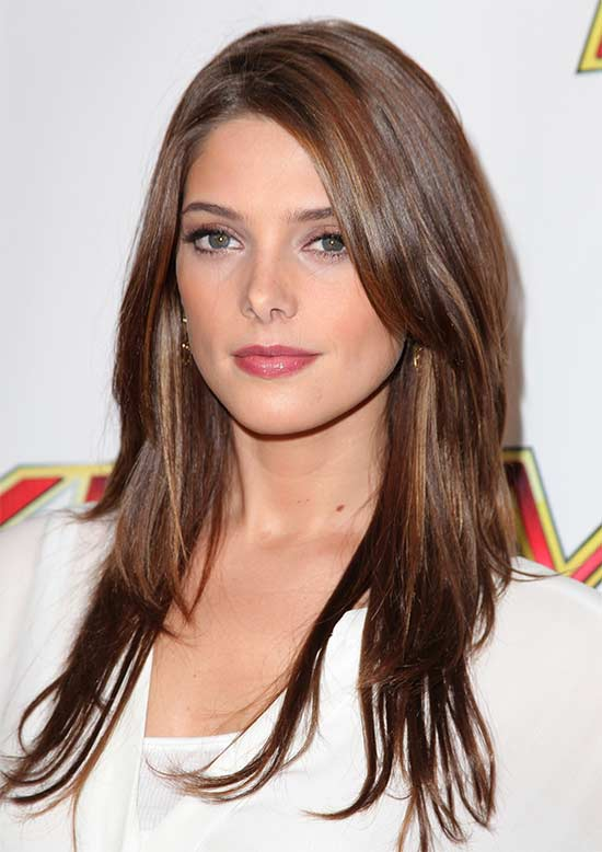 Ashley Greene Long hair for thin Hair
