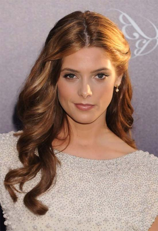 Ashley Greene easy Half Up hairStyle