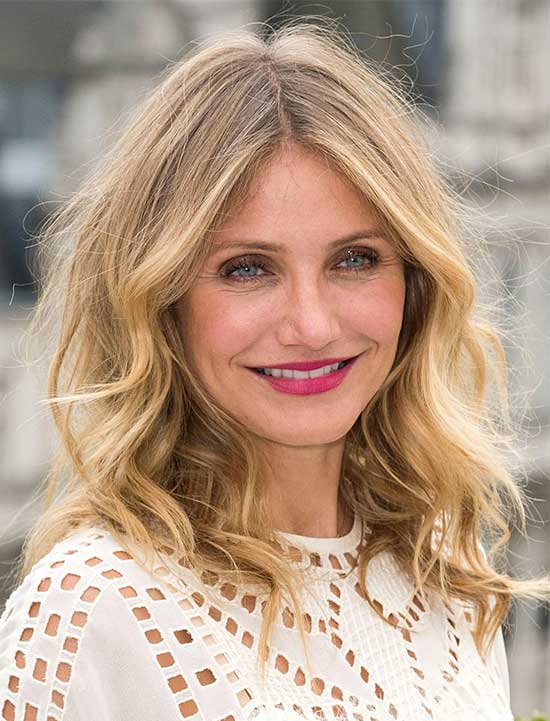 Cameron Diaz Fine Hair