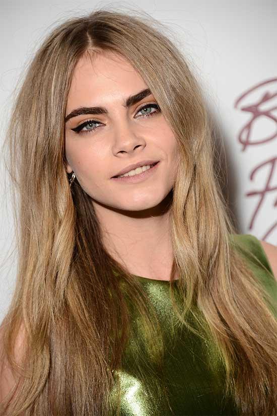 Cara Delevingne Blonde Hairstyle