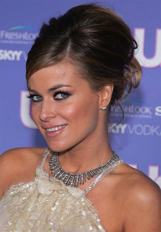 Carmen Electra Prom Updo Hairstyles