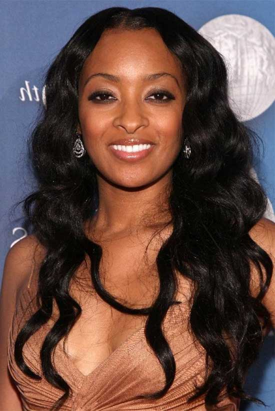 Ciara Curly Hairstyles Hair Weave Black Women