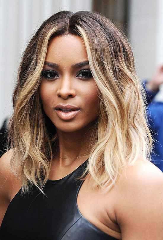 Ciara Short Ombre Hair