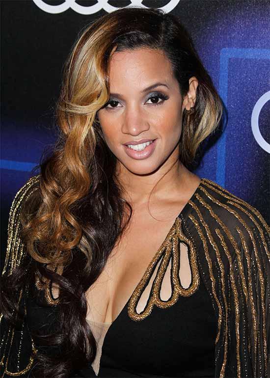 Dasha Polanco Long Hair style for Black Women
