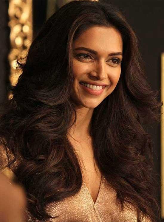 Deepika padukone Long Shag Hairstyles