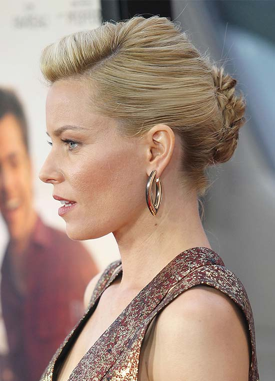 Elizabeth Banks French Twist Updo Hairstyle