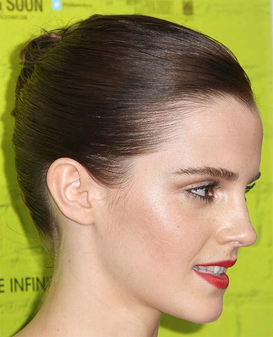 Emma Watson French Twist