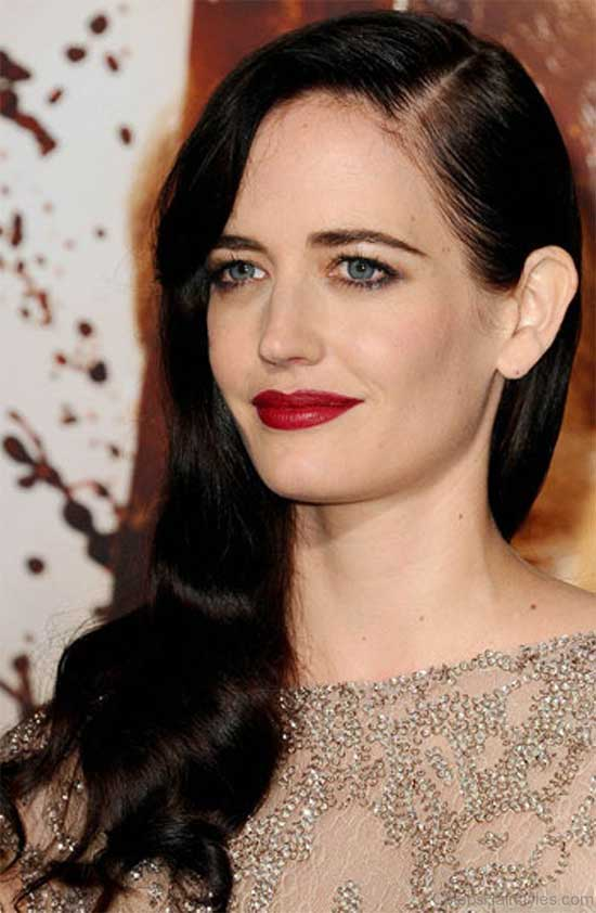 Eva Green Wedding Hairstyle