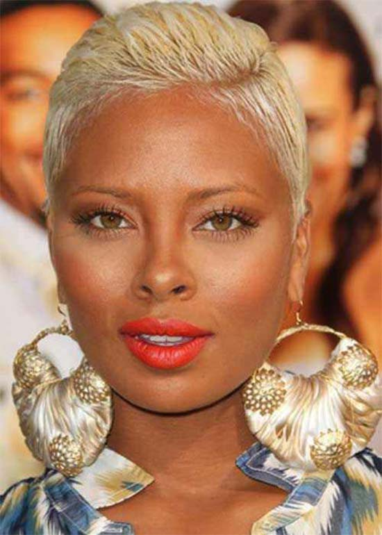 Eva Marcille Pixie Hairstyles for Black Women