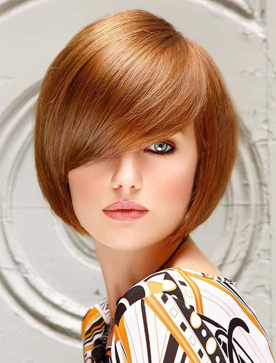 Evan Rachel Wood short fringe hairstyle