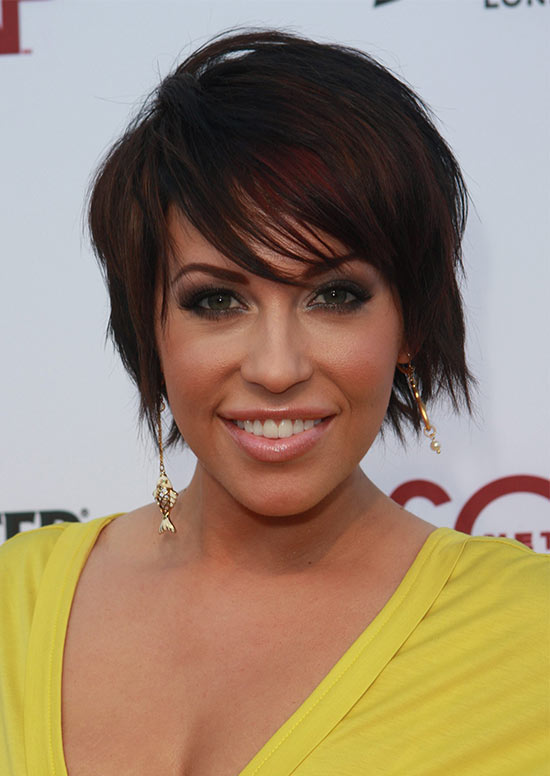 Farah Fath Short Shaggy Hairstyles