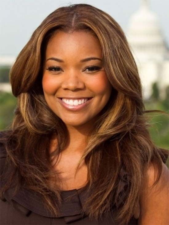 Gabrielle Union black woman brown hair