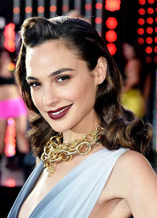 Gal Gadot Wedding Hairstyle