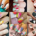 40 Beautiful Geometric Nail Art Ideas You'll Love