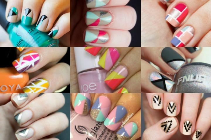 40 Beautiful Geometric Nail Art Ideas You'll Love