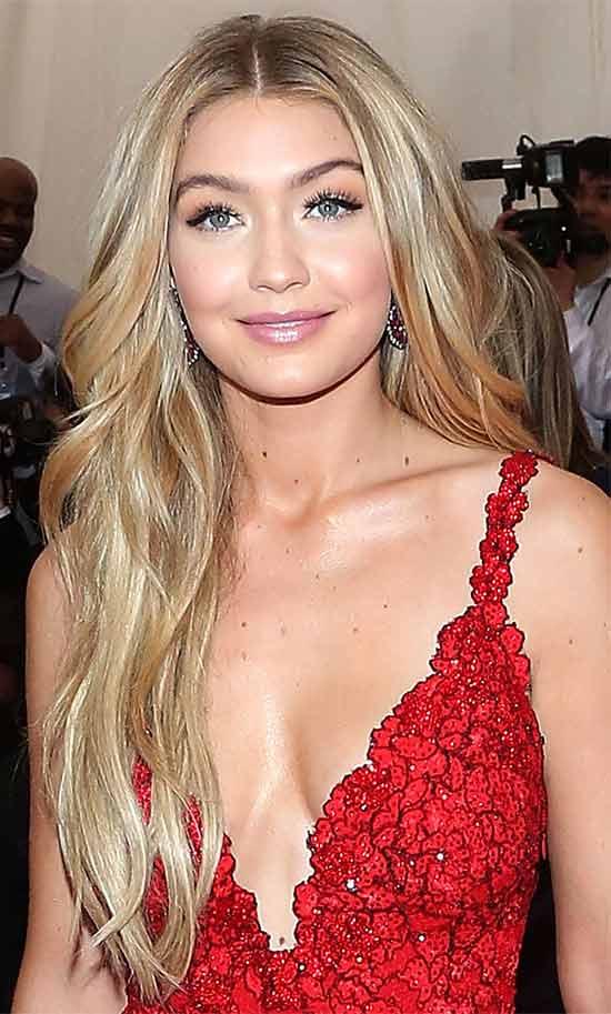 Gigi-Hadid Blonde Hairstyle